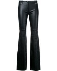 Pantalon flare noir Plein Sud Jeans