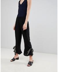 Pantalon flare noir Vero Moda