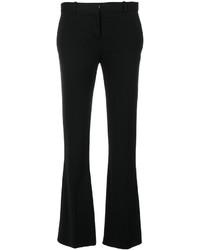 Pantalon flare noir Versace
