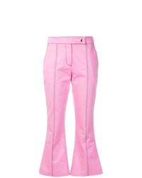 Pantalon flare rose MSGM