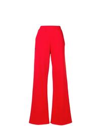 Pantalon flare rouge MSGM