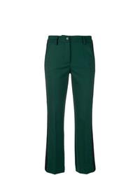 Pantalon flare vert foncé P.A.R.O.S.H.