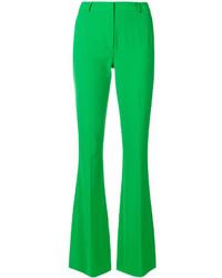 Pantalon flare vert Capucci