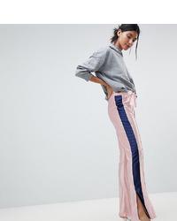 Pantalon flare violet clair Asos Tall