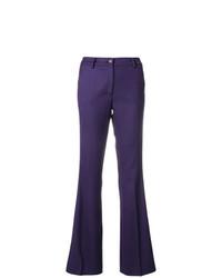 Pantalon flare violet P.A.R.O.S.H.