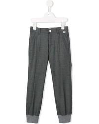 Pantalon gris foncé Il Gufo