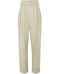 Pantalon large beige Marc Jacobs