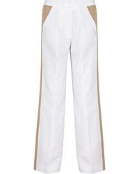 Pantalon large blanc J.Crew