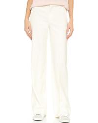 Pantalon large blanc Vince