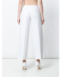Pantalon large blanc Moschino Vintage