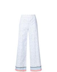 Pantalon large bleu clair Lemlem