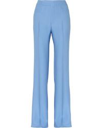 Pantalon large bleu clair Miu Miu