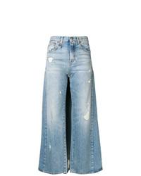 Pantalon large bleu clair R13