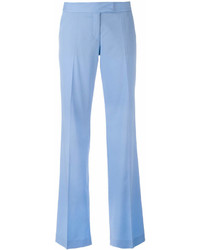 Pantalon large bleu clair Stella McCartney