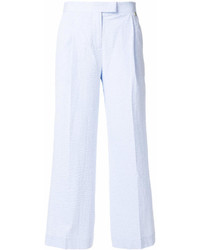 Pantalon large bleu clair Twin-Set