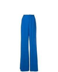 Pantalon large bleu Alice + Olivia