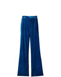 Pantalon large bleu ATTICO