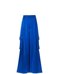 Pantalon large bleu Bambah