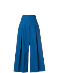 Pantalon large bleu Etro