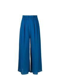 Pantalon large bleu Mara Hoffman