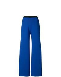 Pantalon large bleu Simon Miller