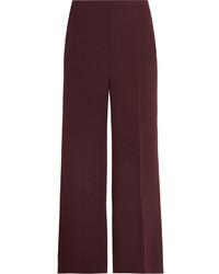 Pantalon large bordeaux Fendi
