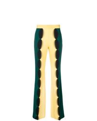 Pantalon large chartreuse Marco De Vincenzo