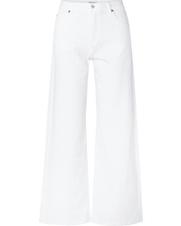 Pantalon large en denim blanc Eve Denim
