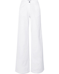 Pantalon large en denim blanc Vanessa Bruno