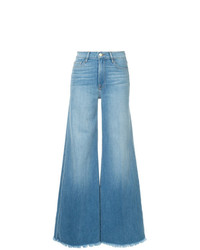 Pantalon large en denim bleu clair Frame Denim