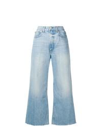 Pantalon large en denim bleu clair Rag & Bone