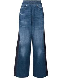 Pantalon large en denim bleu Golden Goose Deluxe Brand