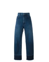 Pantalon large en denim bleu Rachel Comey