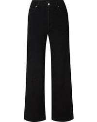 Pantalon large en denim noir Eve Denim