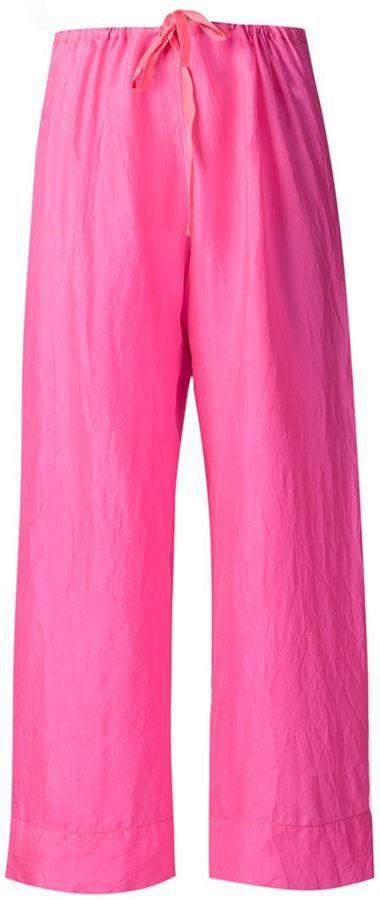 Pantalon large fuchsia Dosa