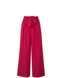 Pantalon large fuchsia Forte Forte