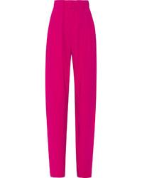 Pantalon large fuchsia Issa