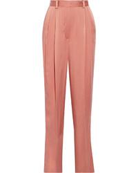 Pantalon large fuchsia Lanvin