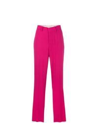 Pantalon large fuchsia Marni