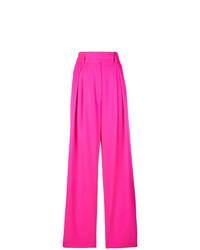 Pantalon large fuchsia Styland