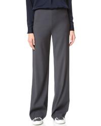 Pantalon large gris foncé Vince