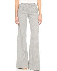 Pantalon large gris AG Jeans