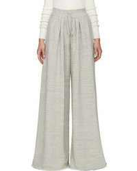 Pantalon large gris Chloé