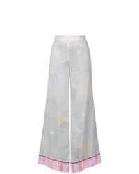 Pantalon large gris Lemlem
