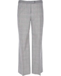 Pantalon large gris Moschino