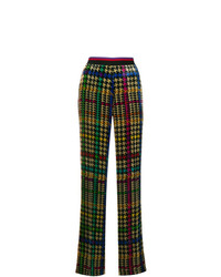 Pantalon large imprimé multicolore Etro