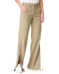 Pantalon large marron clair A.L.C.