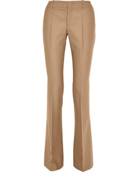 Pantalon large marron clair Gucci