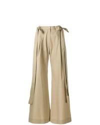 Pantalon large marron clair Milla Milla