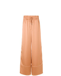 Pantalon large marron clair Off-White